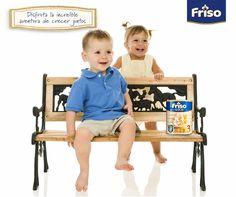 De uno a tres años de edad, Friso mantiene el mejor lugar en el desarrollo de nuestros hijos.