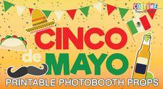 Cinco de Mayo Printable Photo Booth Props