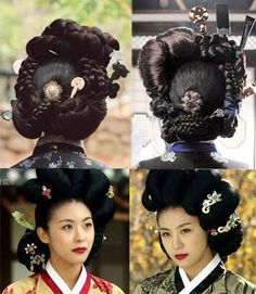 Traditional Korean Hairdos
