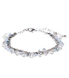 New Look Blue Beaded Bracelet #bracelet #women #covetme