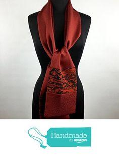 Cashmere Silk Scarf - Red Lemon Silk by VIDA VIDA n3Uyd0VhL