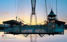 Newport Transporter Bridge - Newport, South Wales, UK - Book Local Traders --> https://SnipTask.com