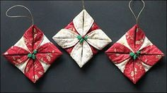 Easy 3D Fabric Snowflakes | with Jennifer Bosworth of Shabby Fabrics - YouTube
