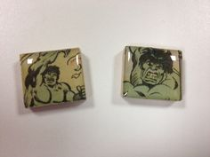 Cuff Links  The Incredible Hulk  Marvel Comics  by dwaldrop99, $19.99
