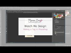 In this video I make a decorative tag. Work is done in Photoshop. Photoshop Youtube, Clip Art, Graphics, Tags, Videos, Illustration, Design, Graphic Design