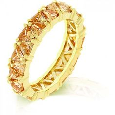 Champagne Trillion Eternity Band