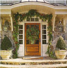 love this door w/ side lt. & overhead transoms