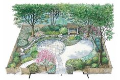 Landscape Plans HOMEPW19994 - Outdoor Project and Home Designs from HomePlans.com
