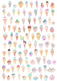 glaces glaces glaces