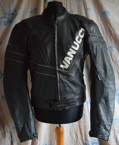 Vanucci Men's Racing & Sports Motorcycle Leather Jacket | eBay