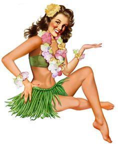 Vintage Hawaiian Art | Hawaiian Treatments and a Competition to name them