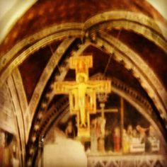 Assisi, croce di san Damiano