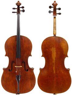 """Nicolo Amati """"Bein, Beare"""" 1679 Cello"""