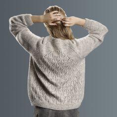 Ravelry: Lotus by Sanne Fjalland Knit-Wear Lace Patterns, Knitting Patterns, Lotus, Graphic Sweaters, Stockinette, Ravelry, Pullover Sweaters, Knitwear, Crochet
