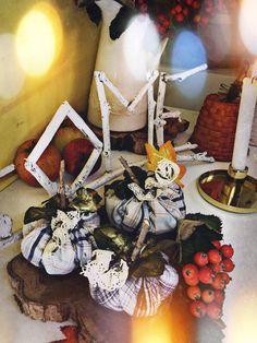 Textiles, Fall Pumpkins, Fall Decor, Santa, Diy, Vintage, Bricolage, Autumn Decorations, Do It Yourself