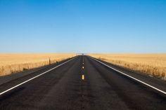 uhohmarty:  Route 174 through the central Washington's wheat...