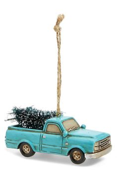 Creative co-op's Vintage-like Truck Christmas Ornament
