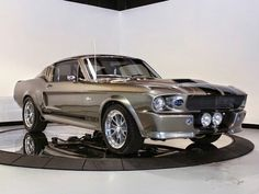 1967 Ford Mustang fastback Eleanor style from Gone in 60 Seconds movie!