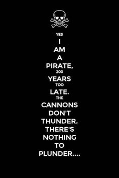 "...I just really like pirates, alright? When I was younger my ""name"" was Captain Scarlett...I still use it for RPGs sometimes."
