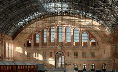 Berlin, Anhalter Bahnhof, Bahnsteighalle - Architectura Pro Homine