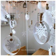 Christmas Deco, Merry Christmas, Xmas, Paper Snowflakes, Kindergarten, Scrap, Ornaments, Crafts, Diy