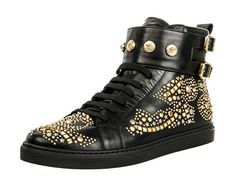 Versace-Sneaker-high-black