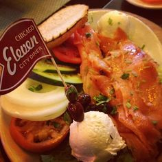 Lox at Eleven City Diner, Chicago