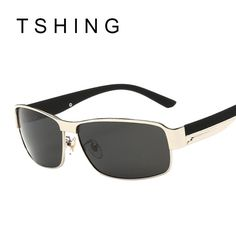 TSHING Men Polarized Sunglasses Brand Design Driver Sunglass New Male Sun Glasses For Fishing Driving Sports Man Oculos UV400  #me #men #gift #sunshades #bride #groom #money #sexyshoes #trendy #style #fashion #women #kids #wallets #bags