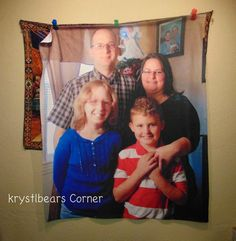 Enter To Win A Customized Fleece Photo Blanket....ends March 6th!