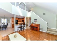 Cathedral ceilings, open floor plan, hardwood, upgraded kitchen, and more. This home has it all and is for sale close to Bethany Beach DE - 104 S Newport Dr, Dagsboro DE