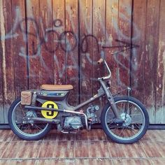street cub - i want this>> Cubs Pictures, Mini Chopper, Honda Cub, Moped Scooter, Bobber Motorcycle, Mopeds, Mini Bike, Go Kart, Custom Bikes