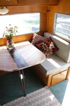 vintage rustic camper