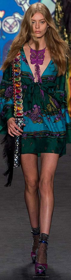 Anna Sui SS 2015 | The House of Beccaria~