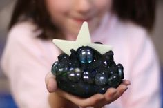 Fairy Dust Teaching Kindergarten Blog: Galaxy Playdough  This was too much fun. We used it while talking about the solar system.