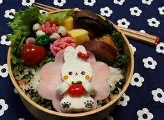 【キャラ弁】はんぺんで可愛いうさぎさん弁当|レシピブログ