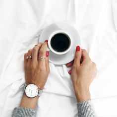 Hands and coffee :)