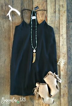 Cormac Dress - Black
