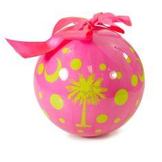 HandPicked: Polka Dot Palmetto Ornament