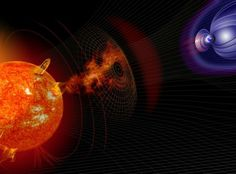 NASA/CC BY Solar storms can slam Earth. Better predictions could help us prepare our technology. Solar storms start their lives as violent explosions from the sun's surface. Champs, Physics Tuition, Bomba Nuclear, Nasa, Illinois State, Moon Rock, Felder, Our Planet, Scary