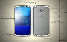 Samsung Galaxy S5 prophecy and early visualization