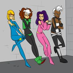 X-Women by John Allison by stormantic, via Flickr