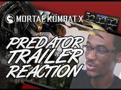 PREDATOR TRAILER MKX RUSSIAN VERSION REACTION!!!!!!!!!!!