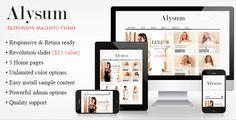 Beautiful Premium #Responsive #Magento #Theme  #webdesign #eCommerce #template #cloths #fashion #shop #store ->