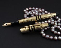 Stunning vintage Cross 150th Anniversary Limited Edition fountain pen from 1996. Anyone have one of these?