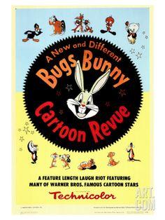 Bugs Bunny A Cartoon Revue, 1953 Giclee Print at Art.com