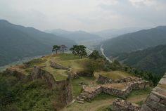 竹田城。日本で一番「ラピュタ」のBGMが似合う場所。Takeda Castle Ruins, Hyogo pref., Japan.