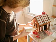 Make a Gingerbread House -- or Two!
