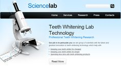 Teeth Whitening Lab Technology