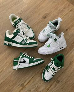 Dr Shoes, Nike Air Shoes, Hype Shoes, Me Too Shoes, Green Nike Shoes, Sneakers Mode, Sneakers Fashion, Fashion Shoes, Shoes Sneakers