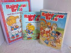 Vintage Rainbow Brite Collection Movie and Books by WanderingSaint, $25.00